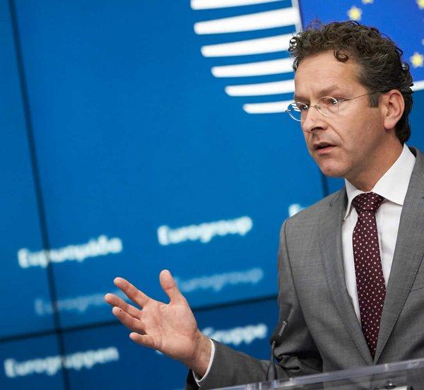 Ντάισελμπλουμ: Είναι πιθανό να χρειασθούν περισσότερα μέτρα για το ελληνικό χρέος στο μέλλον