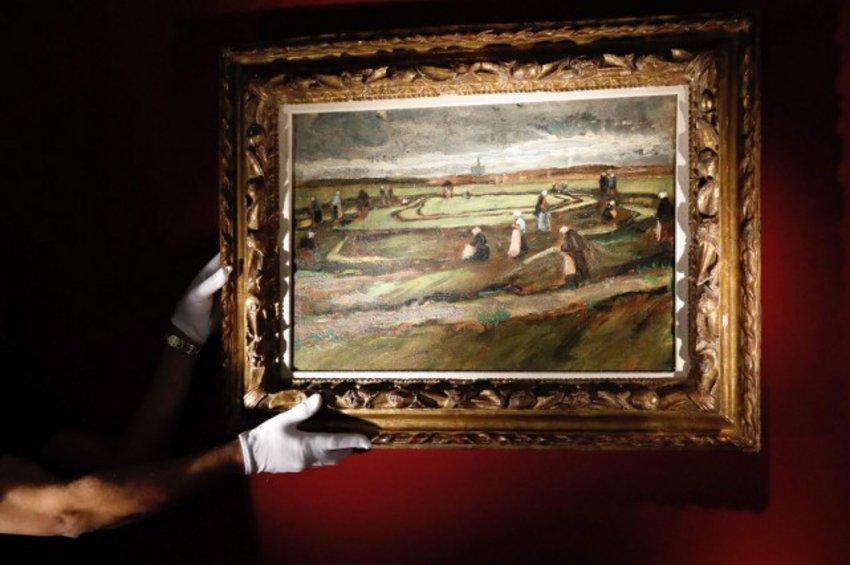 Ένα τοπίο του Βαν Γκογκ πωλήθηκε σε δημοπρασία αντί 7 και πλέον εκατομμυρίων ευρώ