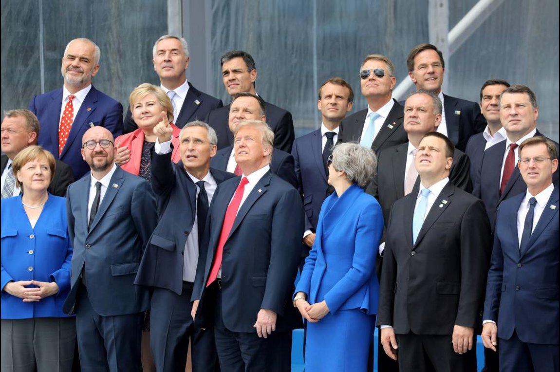 Σύνοδος Κορυφής ΝΑΤΟ, Ιούνιος 2018
