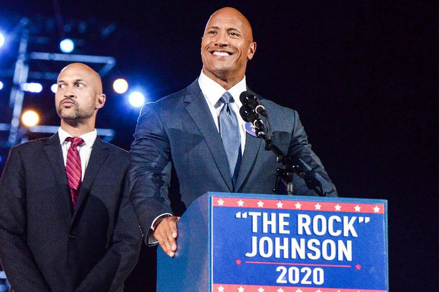Ο Ντουέιν Τζόνσον υποστηρίζει Τζο Μπάιντεν και Κάμαλα Χάρις στις αμερικανικές προεδρικές εκλογές - ΒΙΝΤΕΟ