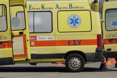 Στην Εντατική μάνα, νεογνό και 9χρονη έπειτα από τροχαίο στο Κιλκίς