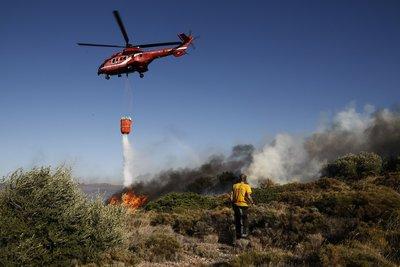Υπό έλεγχο οι φωτιές στην Κρήτη