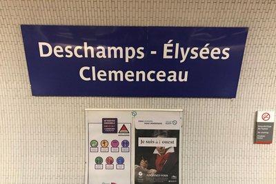 Παρίσι: Μετονομάζουν σταθμούς μετρό για την εθνική Γαλλίας