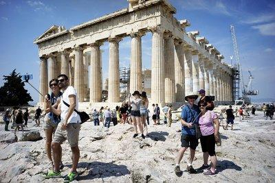 Κατά 14,6% αυξήθηκε ο αριθμός των τουριστών στο επτάμηνο Ιανουαρίου - Ιουλίου