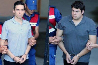 Τι κατέθεσαν οι δυο Έλληνες στρατιωτικοί στο δικαστήριο – Βρίσκονται αντιμέτωποι με ποινή φυλάκισης δύο ετών