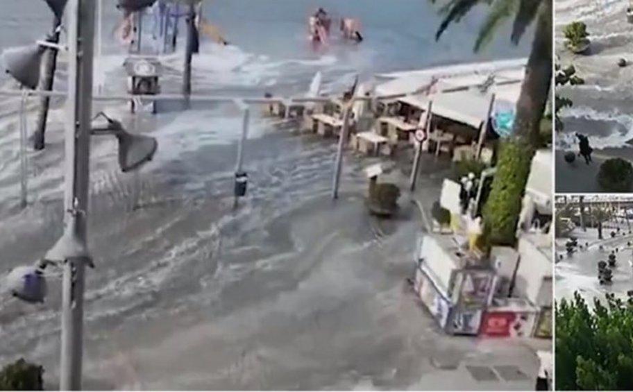 Μίνι τσουνάμι χτύπησε τη Μαγιόρκα και τη Μινόρκα