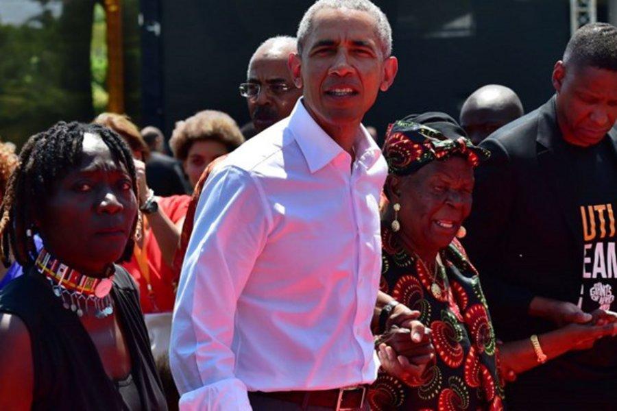 Ο Ομπάμα στην Κένυα για να στηρίξει πρωτοβουλία της ετεροθαλούς αδελφής του