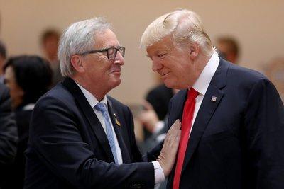 Συνάντηση Γιούνκερ - Τραμπ στις 25 Ιουλίου