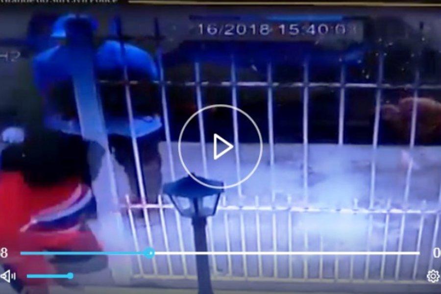 Βίντεο σοκ από την απαγωγή της μητέρας του ποδοσφαιριστή Τάισον