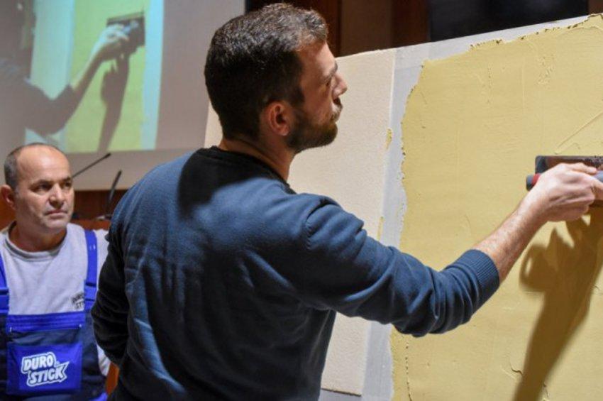 Με μεγάλη επιτυχία ολοκληρώθηκε ο 1ος κύκλος εκπαιδευτικών σεμιναρίων χειμερινής περιόδου της Durostick