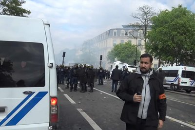 Απολύεται ο συνεργάτης του Μακρόν που έδειρε διαδηλωτή
