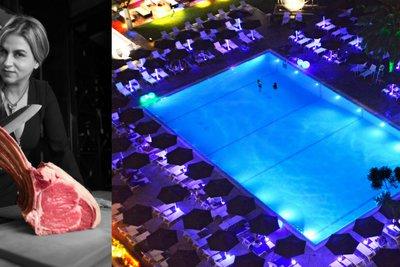 Γαστρονομική εμπειρία με την Μυρσίνη Λαμπράκη στην ατμοσφαιρική πισίνα του Hilton