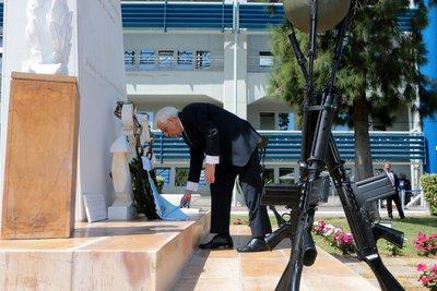 Αποκαλυπτήρια Μνημείου Πεσόντων Λιμενικού Σώματος - Ελληνικής Ακτοφυλακής, από τον ΠτΔ Πρ. Παυλόπουλο