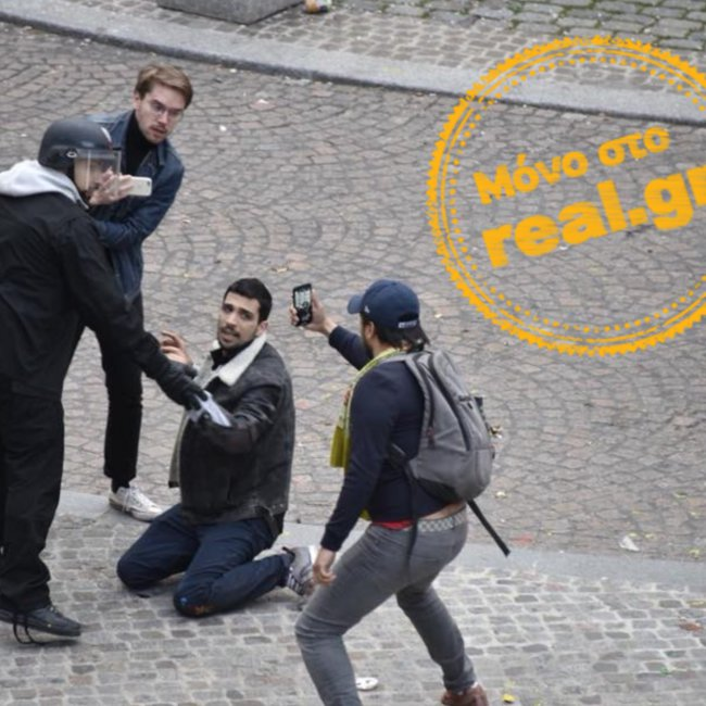 Νέα εξέλιξη: Έλληνας ο διαδηλωτής που ξυλοκόπησε ο πρώην συνεργάτης του Μακρόν!