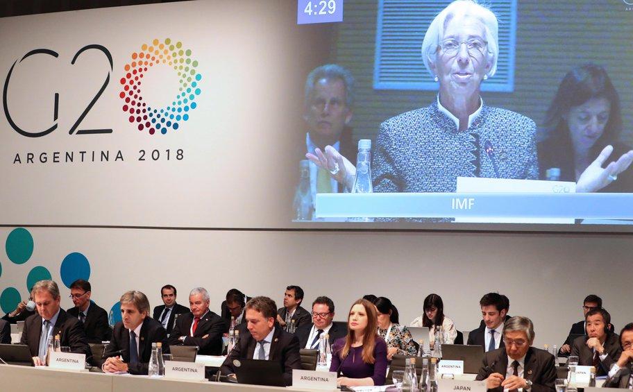 Υπ. Οικονομικών G20:  Αυξανόμενοι οικονομικοί κίνδυνοι από τις εμπορικές εντάσεις
