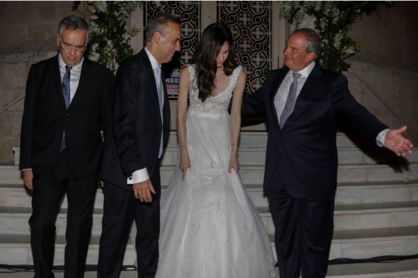 Παντρεύτηκε ο Δήμαρχος Γλυφάδας με κουμπάρο τον Κώστα Καραμανλή