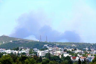 Πυρκαγιά και στην Πεντέλη