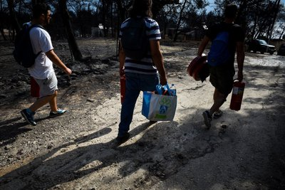 «Δημόκριτος»-Εθνικό Αστεροσκοπείο: Κανένας κίνδυνος για την υγεία των κατοίκων στις πυρόπληκτες περιοχές
