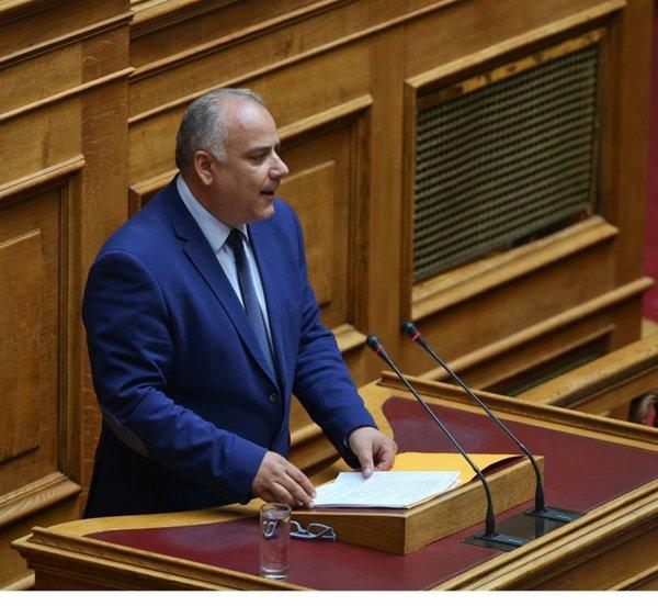 Σαρίδης: Δεν ψηφίζω τη Συμφωνία των Πρεσπών - Να μην ξαναδώ ερωτηματικό δίπλα στο όνομά μου