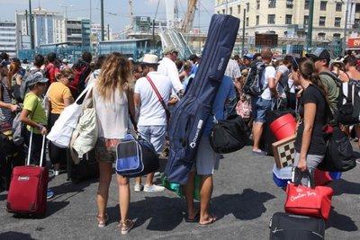 Ομαλά η κίνηση από τα λιμάνια Πειραιά-Ραφήνας και Λαυρίου