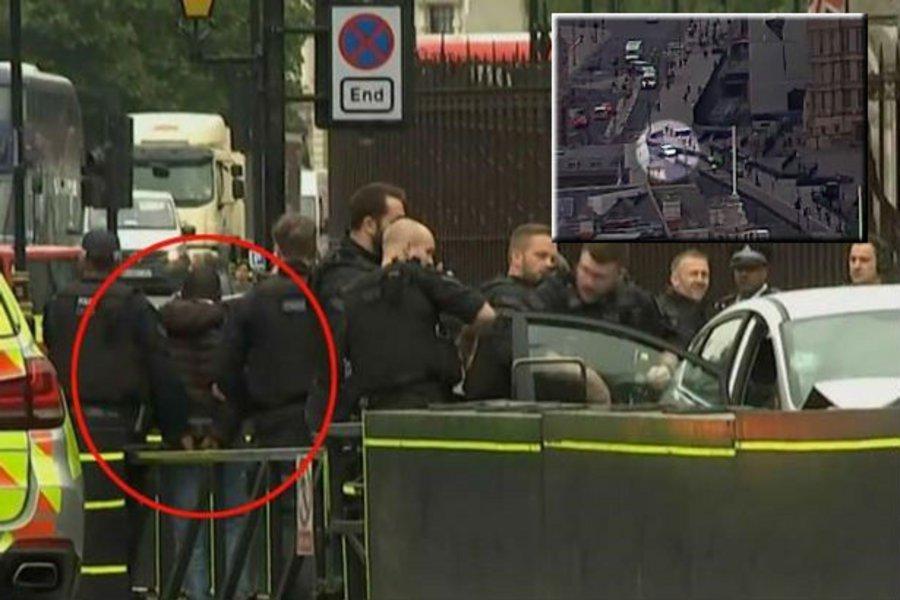 Βίντεο ντοκουμέντο: Ήταν τρομοκρατική επίθεση! - Αυτοκίνητο έπεσε στην πύλη της βρετανικής Βουλής