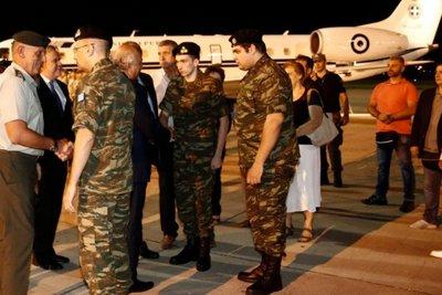 Ένωση Στρατιωτικών: Άγγελε και Δημήτρη, επιδείξατε υψηλό ηθικό και ψυχική δύναμη, σας περιμένουμε με σεβασμό και τιμή