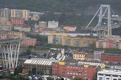 Ανείπωτη τραγωδία στην Ιταλία: Τρία παιδιά ανάμεσα στους 38 νεκρούς - Ψάχνουν ακόμη στα συντρίμμια της γέφυρας