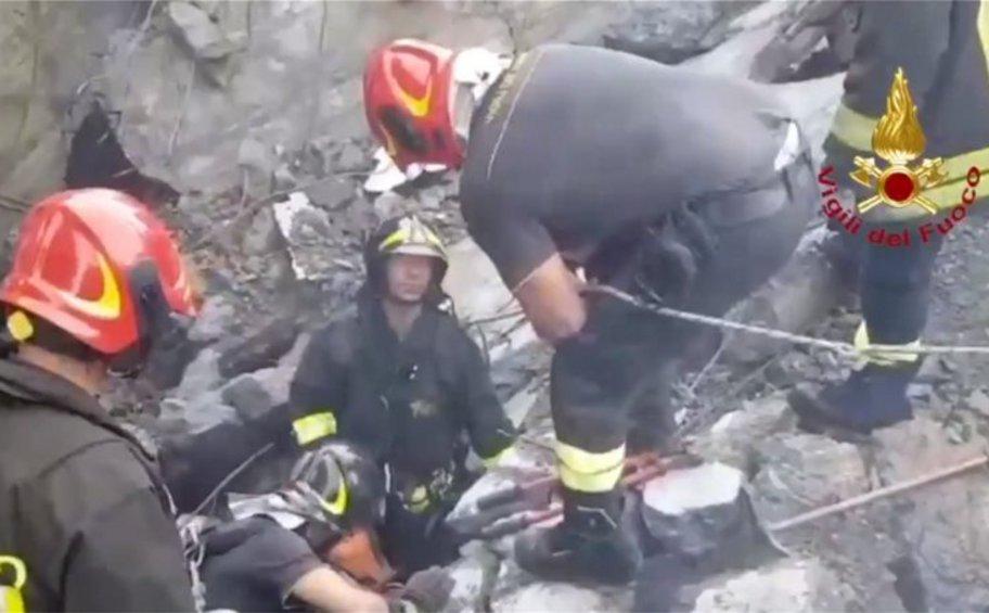 Στους 38 οι νεκροί στη Γένοβα - Έρευνες για επιζώντες στα συντρίμμια της οδογέφυρας
