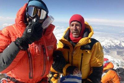 Έτοιμοι για κατάκτηση μιας ακόμα κορυφής πάνω από τα 8.000 μ. οι Συκάρης-Μαρίνος