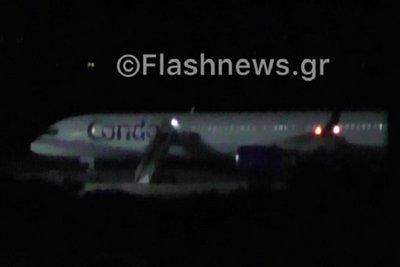 Φάρσα η βόμβα στο αεροπλάνο που προσγειώθηκε εκτάκτως στα Χανιά τα μεσάνυχτα