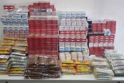 Δύο συλλήψεις για λαθραία καπνικά προϊόντα