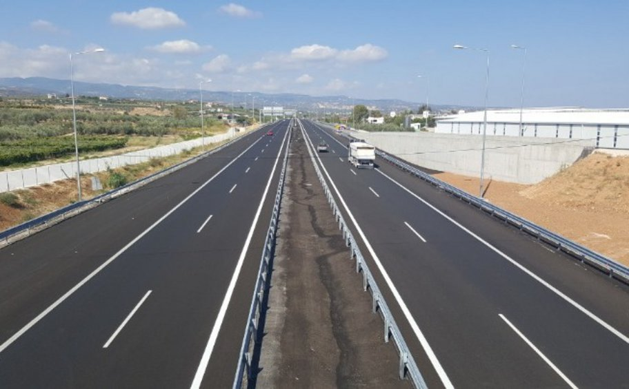Εργασίες τη Δευτέρα στην Εθνική Οδό Θεσσαλονίκης- Ν. Μουδανιών
