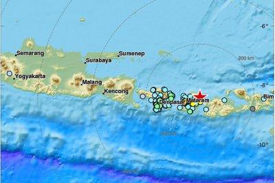 Ινδονησία: Σεισμική δόνηση 6,3 Ρίχτερ στο νησί Λομπόκ