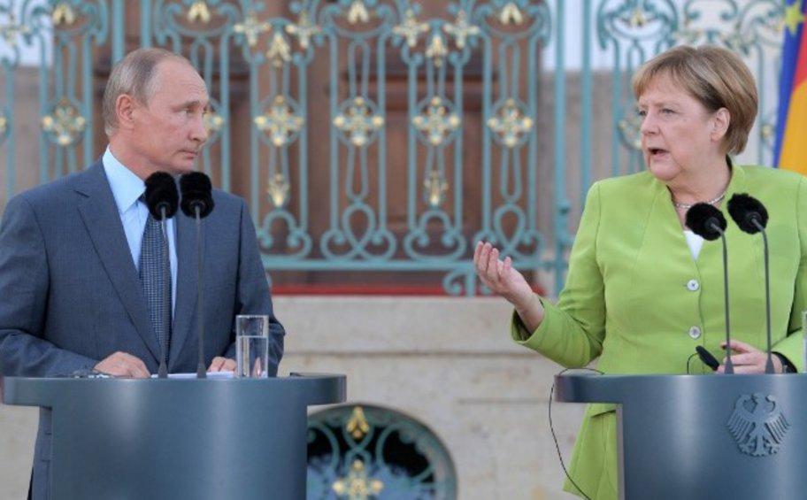 Die Welt: Αυτά είναι τα τρία θέματα που συζήτησαν Μέρκελ - Πούτιν