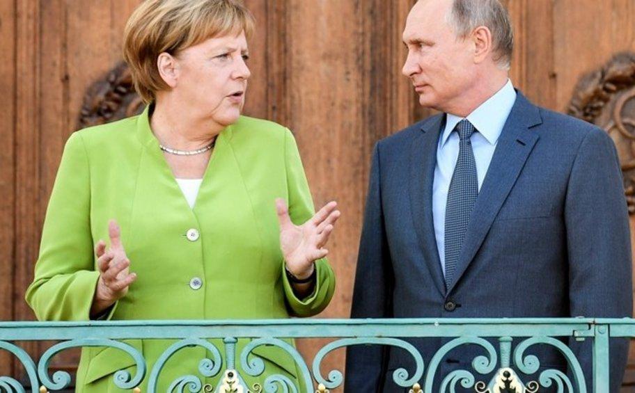Μέρκελ: Η συνεργασία με τη Ρωσία είναι απαραίτητη
