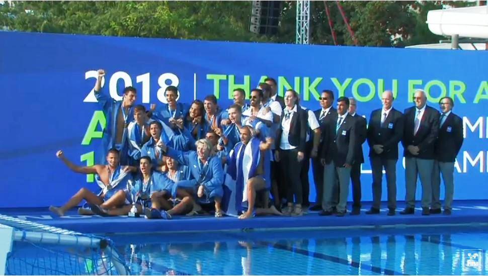 6ca319550fac Πρωταθλήτρια κόσμου η Εθνική Εφήβων πόλο! - Νίκησαν και την Ισπανία στον  τελικό