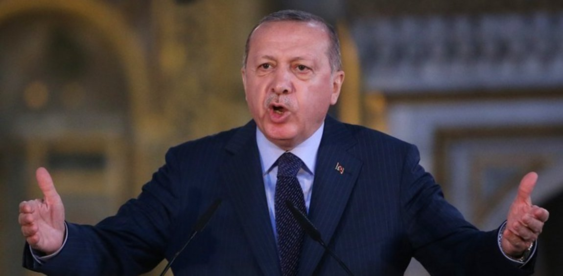 Ερντογάν: Η επίθεση στην οικονομία μας είναι επίθεση στη σημαία μας