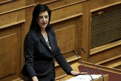 Βάκη: Το δίλημμα των ευρωεκλογών συνοψίζεται στο «Ανθρωπισμός ή Βαρβαρότητα»
