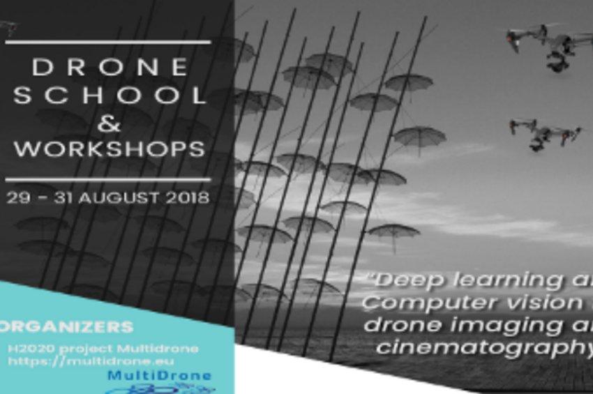 Θερινό σχολείο με θέμα τις εφαρμογές των drones στην κινηματογραφία