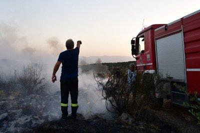 Σε ύφεση οι φωτιές που ξέσπασαν νωρίτερα σήμερα σε Σητεία, Ηράκλειο και Ρέθυμνο
