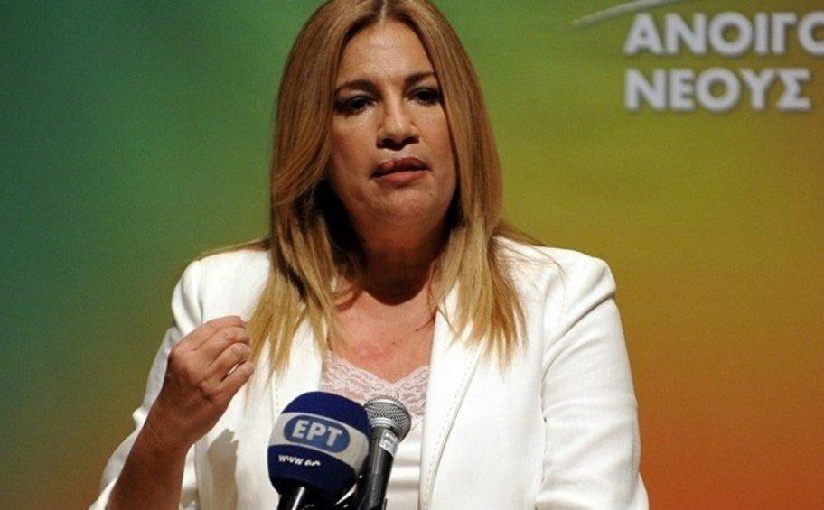 Φώφη Γεννηματά: Το «Σχέδιο Ελλάδα» του ΚΙΝΑΛ για την ανάπτυξη της χώρας και των νησιών