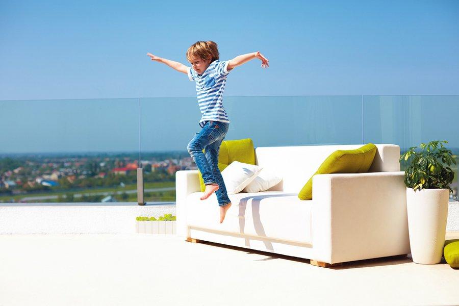 Ταράτσα… ο νέος χώρος αναψυχής του σπιτιού!