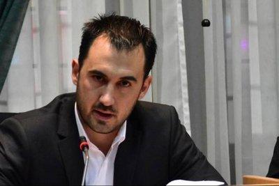 Συνάντηση του Χαρίτση με τουρκική αντιπροσωπεία της Ένωσης για την Ειρήνη και Επικοινωνία στο Αιγαίο