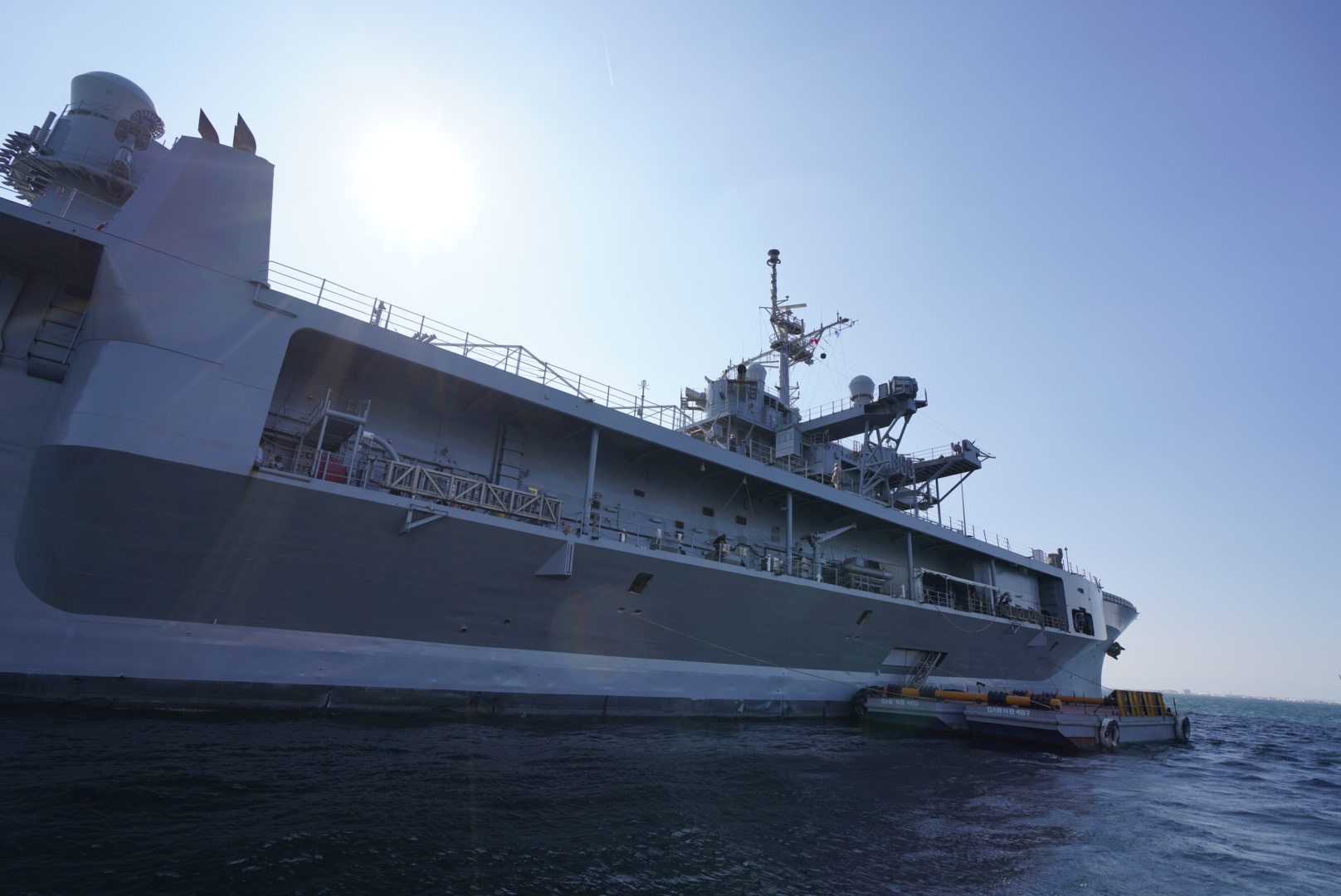 Στη Θεσσαλονίκη το πλέον σύγχρονο πλοίο διοίκησης του στόλου του  Αμερικανικού Ναυτικού. 269be3e2f30
