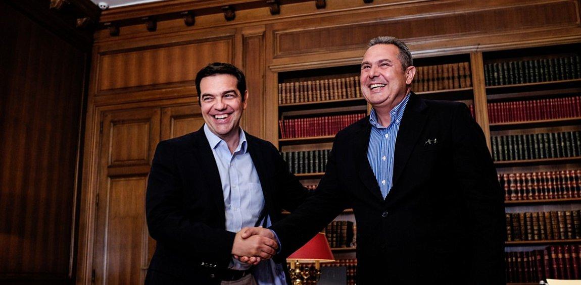 Τσίπρας-Καμμένος: Συνεχίζουμε μαζί - Τα λέμε τον Μάρτιο για την συμφωνία των Πρεσπών