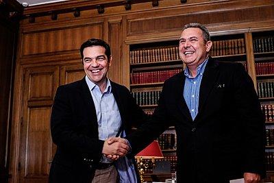Καμμένος: Συμφωνήσαμε με Τσίπρα, κανένας βουλευτής των ΑΝΕΛ σε ψηφοδέλτια του ΣΥΡΙΖΑ