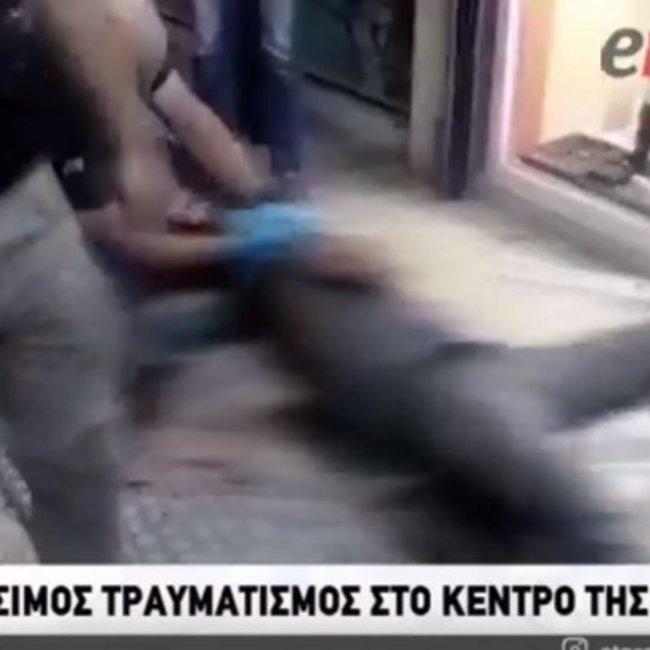 Βίντεο-σοκ από την απόπειρα ληστείας στο κοσμηματοπωλείο στην πλατεία Κάνιγγος