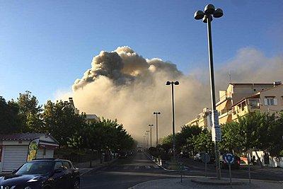 Ηράκλειο: Φωτιά στο Πανεπιστήμιο - Κοντά στην πύρινη εστία βρίσκεται το Βενιζέλειο νοσοκομείο