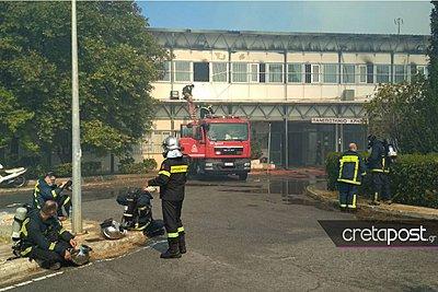 Πρύτανης Πανεπιστημίου Κρήτης: Έσβησε η φωτιά