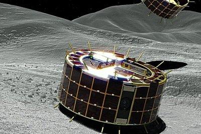 Τα ρομποτικά «ρόβερ» του ιαπωνικού Hayabusa2 στον αστεροειδή Ριούγκου